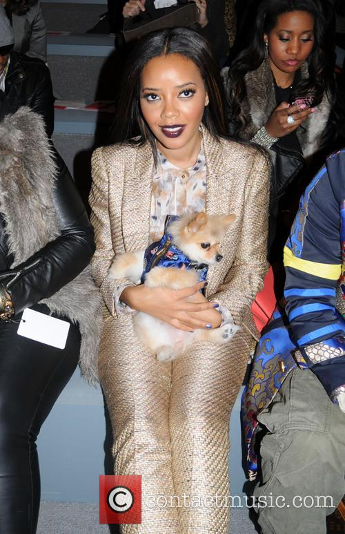 New York fashion week Vivienne Tam front row
