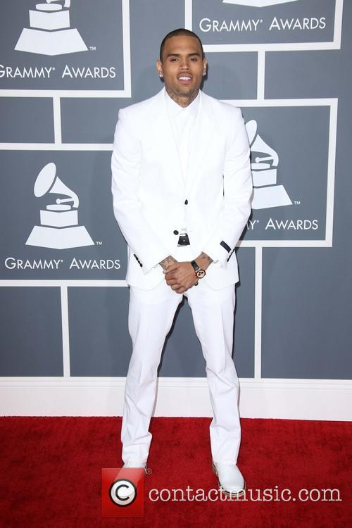 chris brown 55th annual grammy awards at 3925414