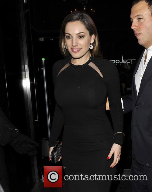 Kelly Brook Leaving Project Night Club