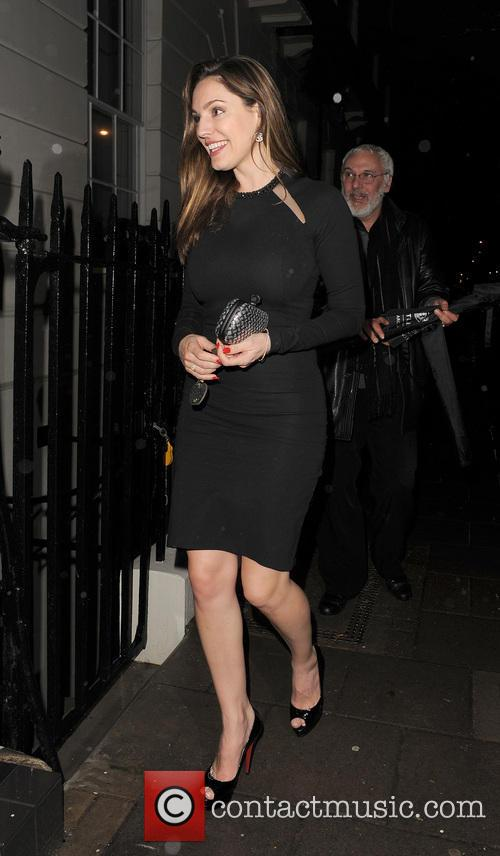 Kelly Brook out with Danny Cipriani