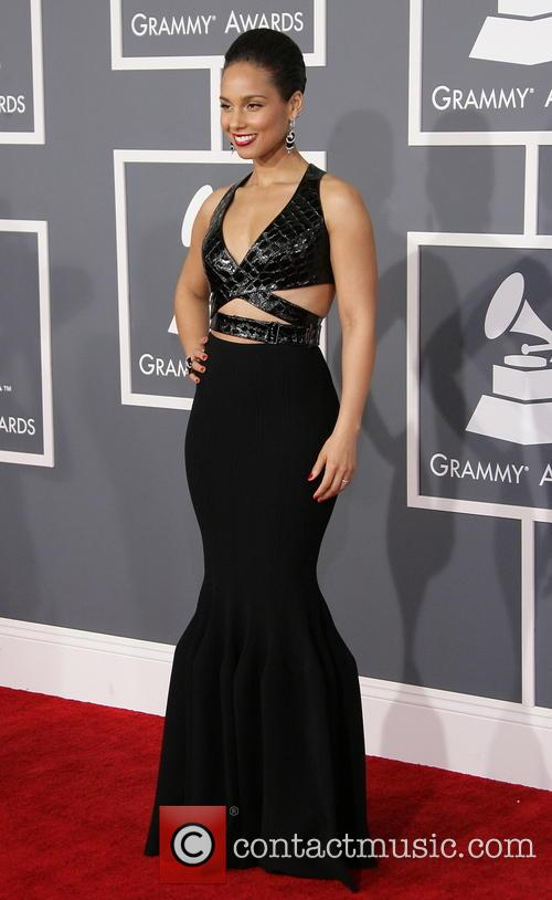 Alicia Keys, 55th Annual Grammy Awards