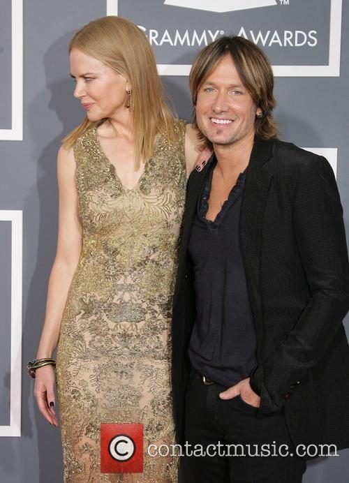 Nicole Kidman, Keith Urban, Staples Center, Grammy Awards