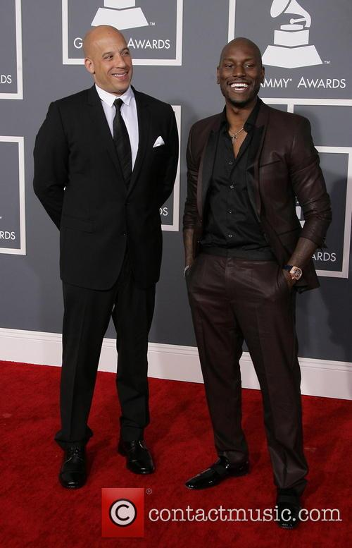Vin Diesel and Tyrese Gibson 3