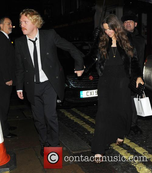 leigh francis jill carter the weinstein company post bafta party 3497272
