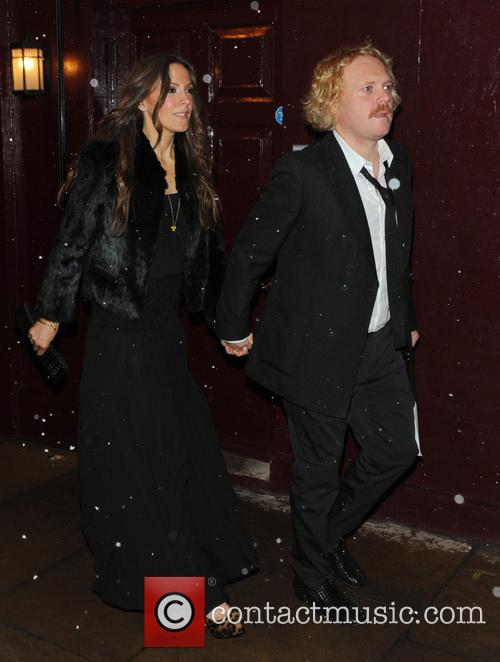 leigh francis jill carter the weinstein company post bafta party 3497280