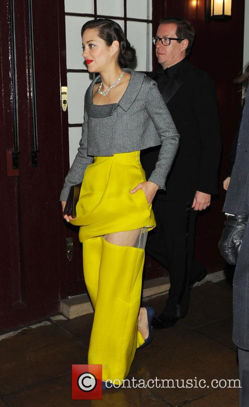 marion cotillard the weinstein company post bafta party at 3497287