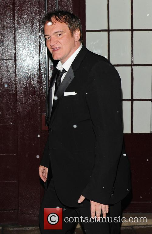 quentin tarantino the weinstein company post bafta party at 3496283
