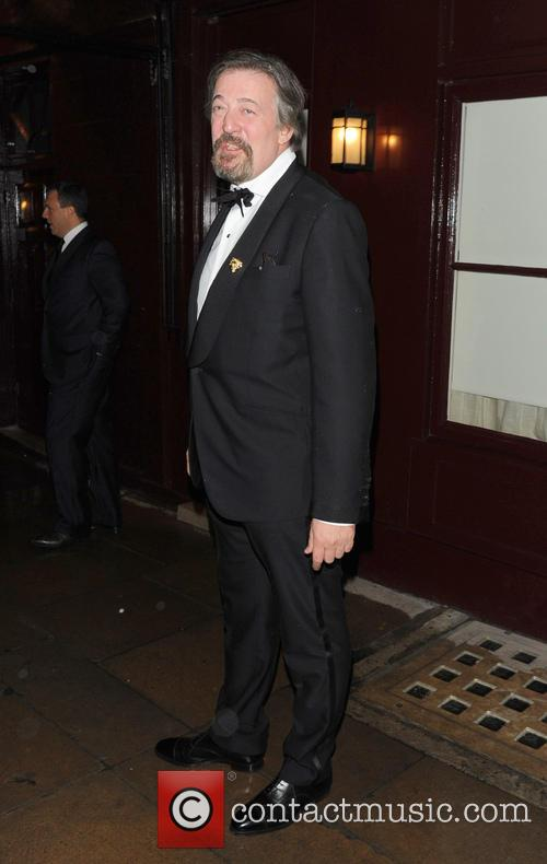 Stephen Fry at the BAFTAS 2013