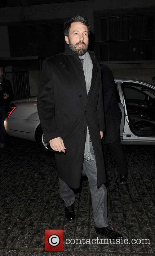 Ben Affleck arriving at Zuma restaurant