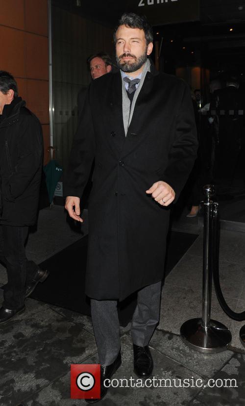Ben Affleck leaving Zuma restaurant