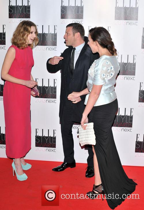 Laura Carmichael, Dee Koppang and Dermot O'leary 4