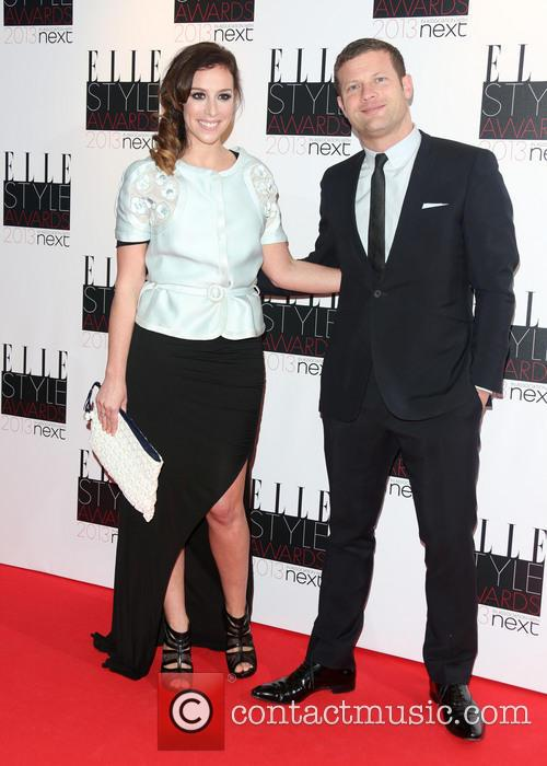 Dermot O'leary and Wife Dee Koppang 1