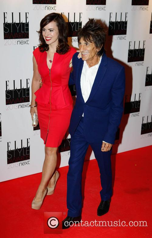 Ronnie Wood and Sally Humphries 5
