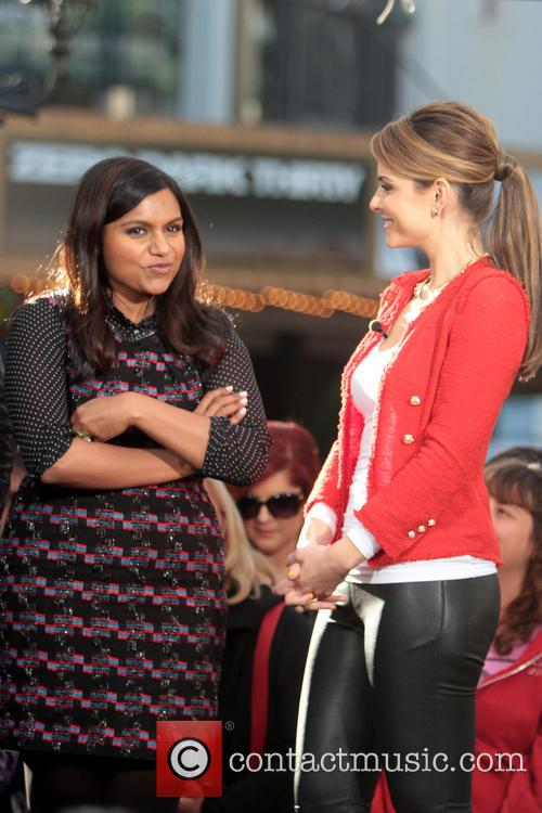 Mindy Kaling and Maria Menounos 3