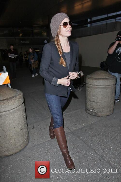 amy adams celebrities arriving at lax airport 3499109