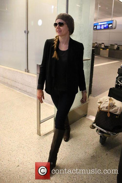 amy adams celebrities arriving at lax airport 3499262