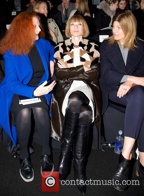 Anna Wintour takes the FROW at last year's New York Fashion Week