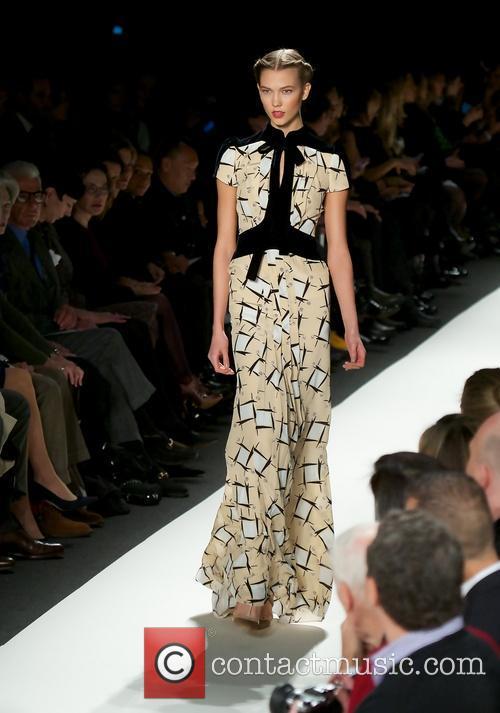 Carolina Herrera and Model 3