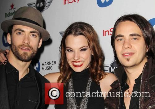 Halestorm, Joe Hottinger, Lzzy Hale and Celebration 1