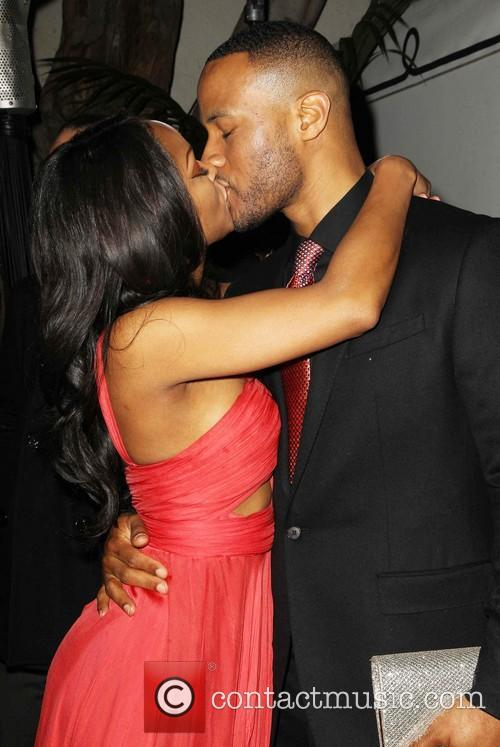 Meagan Good and Devon Franklin 1