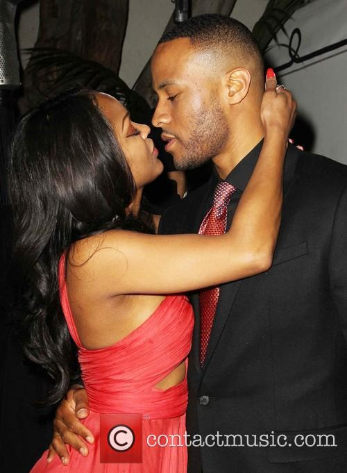Meagan Good and Devon Franklin 7