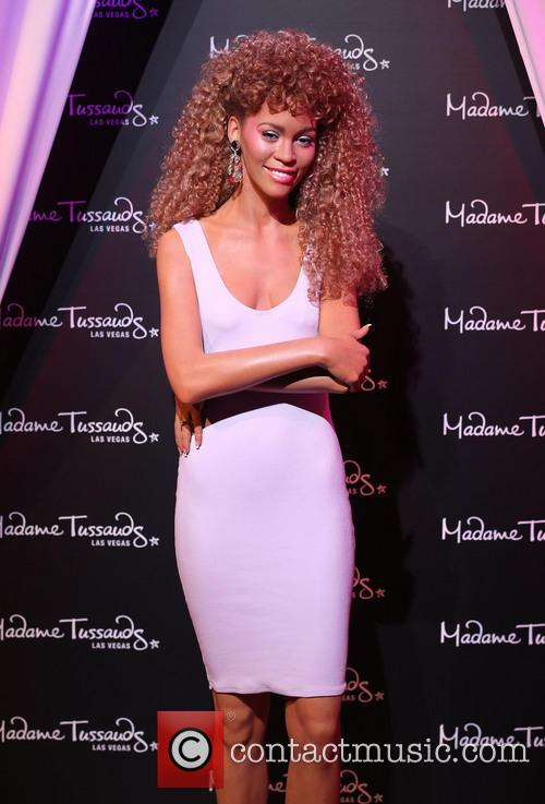 Whitney Houston, Unveils Wax Figure and Madame Tussauds Las Vegas 2