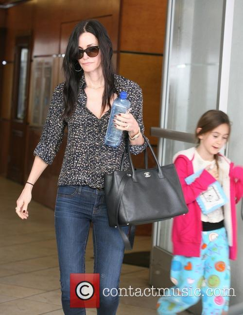 Courteney Cox and Coco Arquette 2
