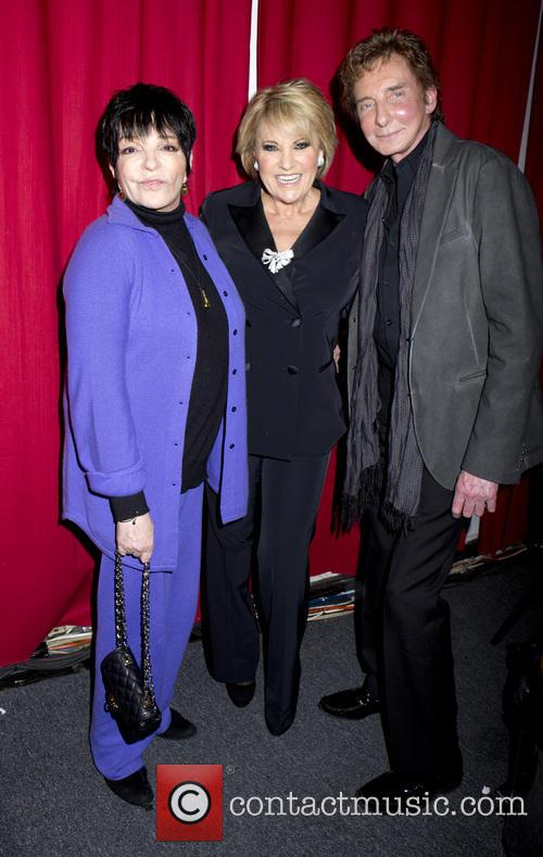 Liza Minnelli, Barry Manilow, Lorna Luft