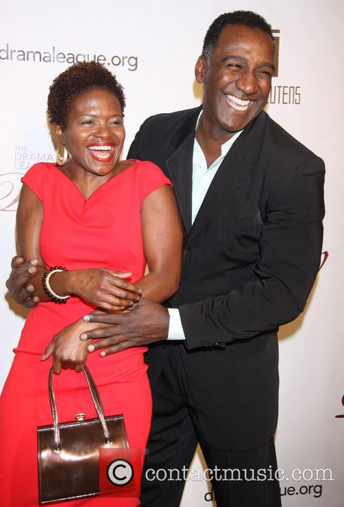 Lachanze and Norm Lewis 1