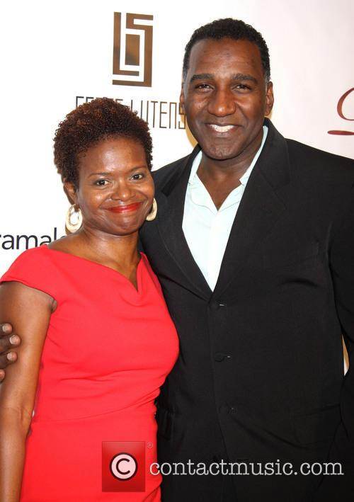 Lachanze and Norm Lewis 3