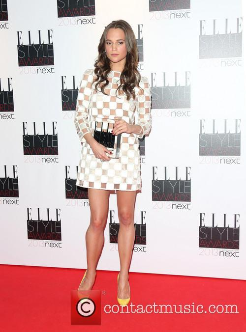 Alicia Vikander and Elle Style Awards 1