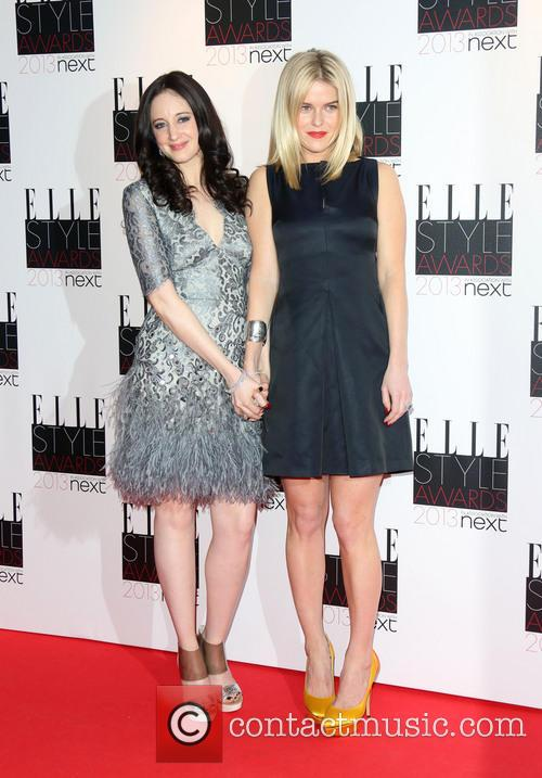 Andrea Riseborough, Alice Eve, Elle Style Awards