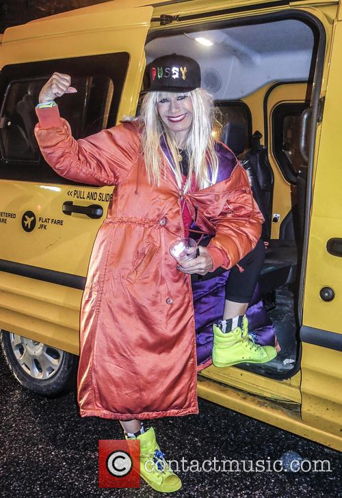 Betsey Johnson during New York fashion week