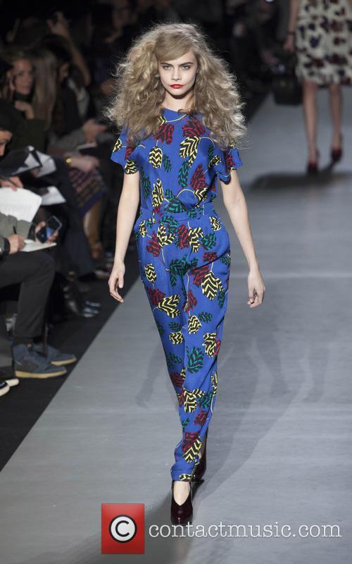 Marc Jacobs, Cara Delevingne, New York Fashion Week
