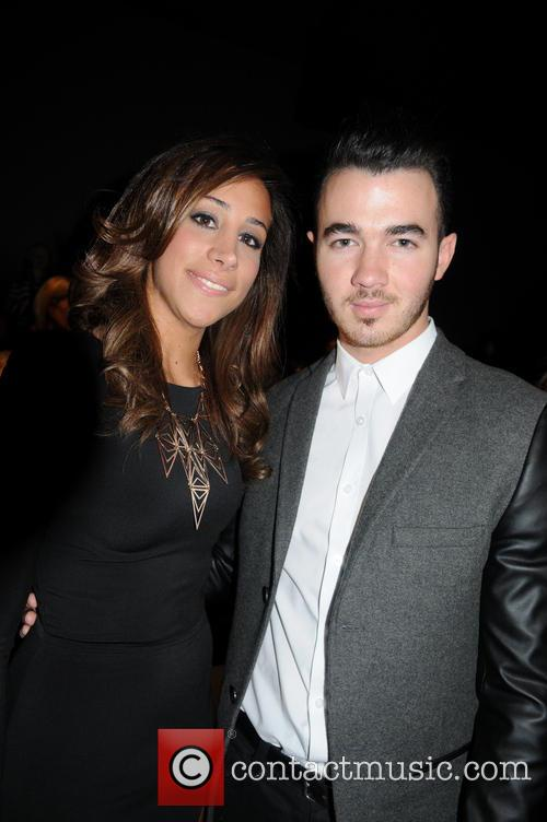 Kevin Jonas, Danielle Deleasa, New York Fashion Week