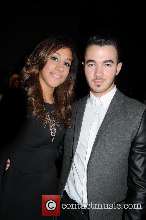 Kevin Jonas and Danielle Deleasa 2