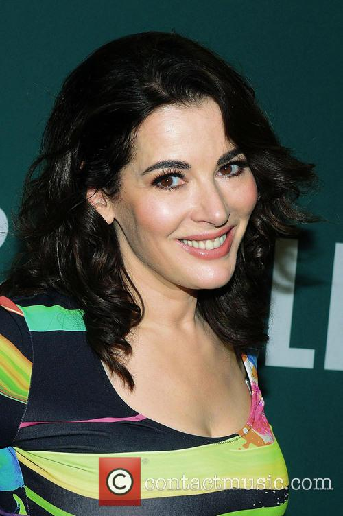 Nigella Lawson promoting her new book