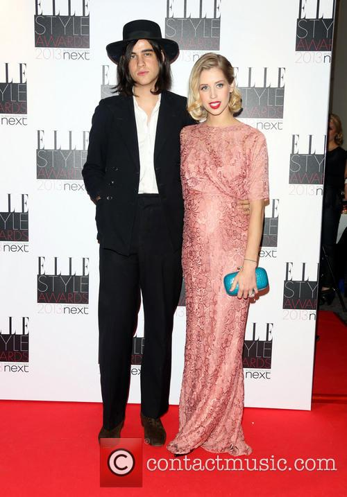 Peaches Geldof and Thom Cohen 1