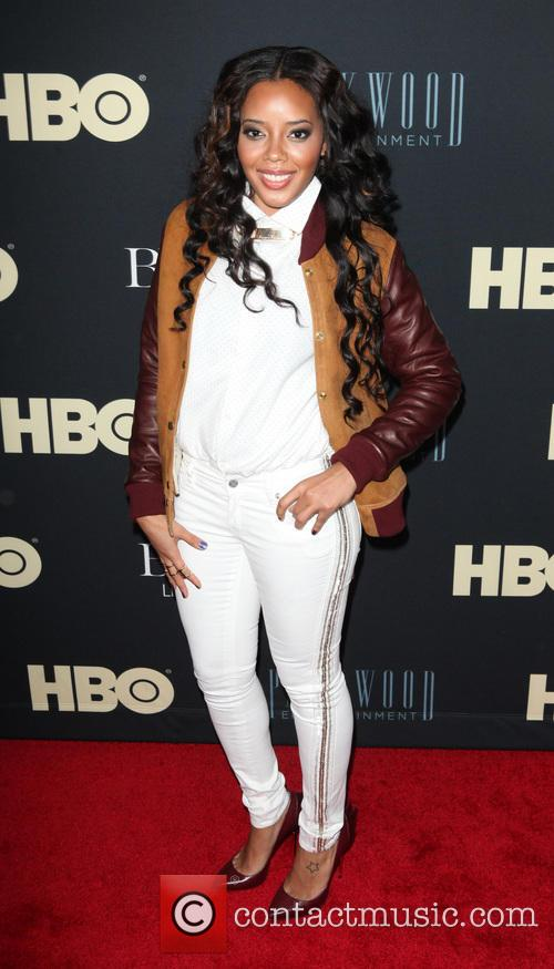 Angela Simmons, The Ziegfeld Theatre 54th st  NYC, Ziegfeld Theater