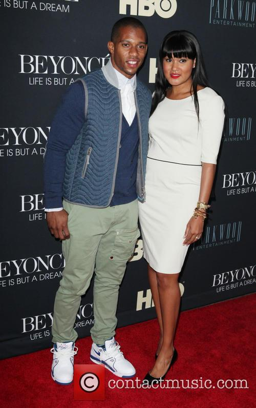 Victor Cruz and Elaina Watley 3