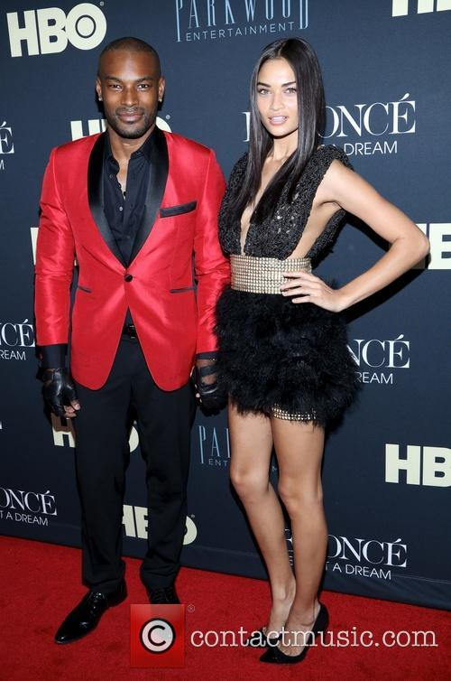 Tyson Beckford and Shanina Shaik 1