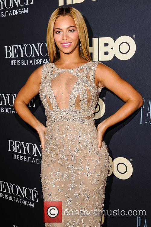 Beyonce Knowles at HBO