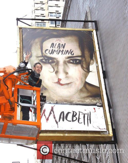 Alan Cumming promotes 'Macbeth' at the Barrymore Theatre