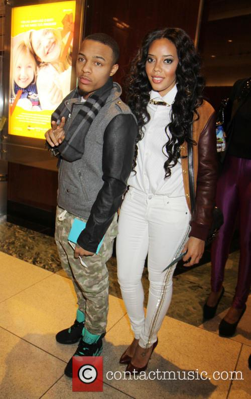 Bow Wow and Angela Simmons enjoys drinks and...