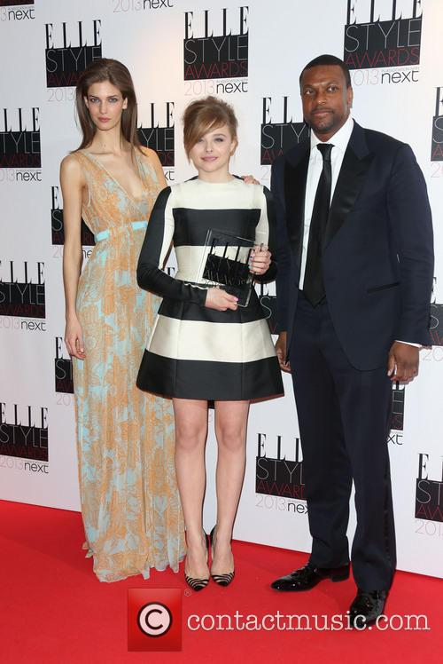 Kendra Spears, Chloe Moretz and Chris Tucker 2