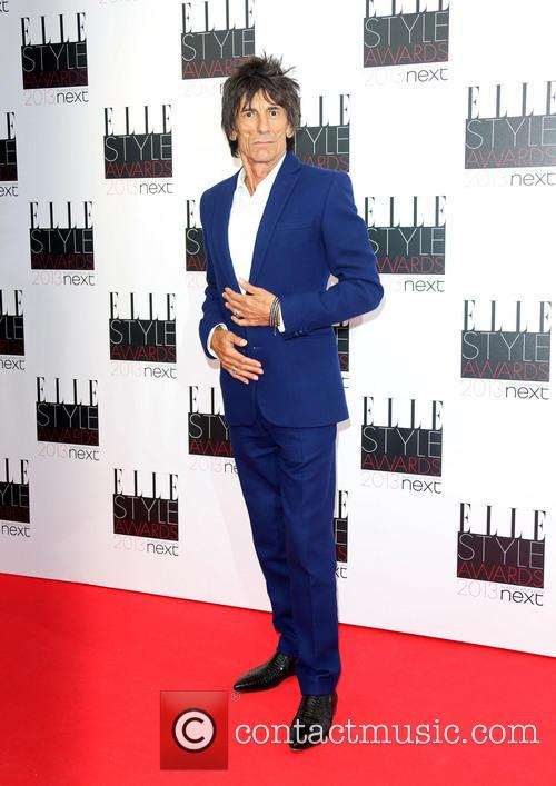 Ronnie Wood Elle Style Awards