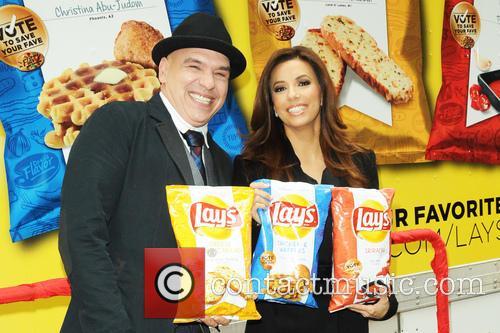 Michael Symon and Eva Longoria 2