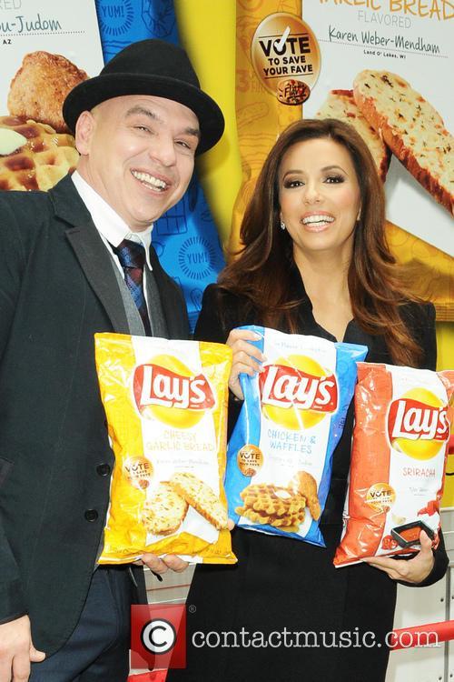 Michael Symon and Eva Longoria 3