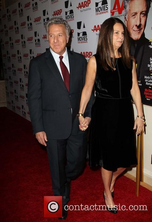Dustin Hoffman and Lisa Hoffman 2