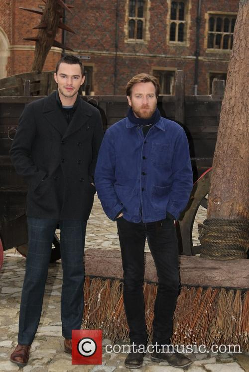 Nicholas Hoult and Ewan Mcgregor 9